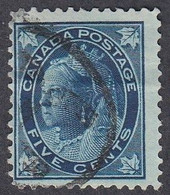 Canada, Scott #70, Used, Victoria, Issued 1897 - Used Stamps
