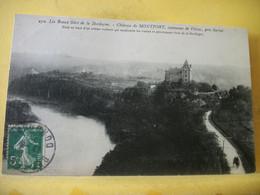 24 5453 CPA 1913 - AUTRE VUE DIFFERENTE N° 15 - 24 CHATEAU DE MONTFORT COMMUNE DE VITRAC PRES SARLAT - ANIMATION - Other Municipalities