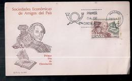 Espagne - Enveloppe De Timbre Moderne En Circulation - 1971-80 Storia Postale