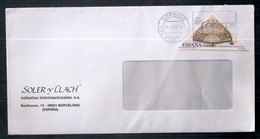 Espagne - Enveloppe De Timbre Moderne En Circulation - 2001-10 Storia Postale