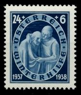 ÖSTERREICH 1937 Nr 644 Postfrisch X7596CA - Ongebruikt