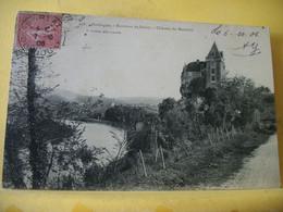 24 5469 CPA 1906 - AUTRE VUE DIFFERENTE N° 22 - 24 ENVIRONS DE SARLAT. CHATEAU DE MONTFORT. - Other Municipalities