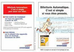Tintin Dépliant SNCF 1994 - Altri Oggetti Fumetti