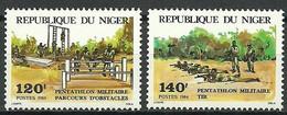 Niger 1984 Mi 883-884 MNH  (ZS5 NGR883-884) - Militaria