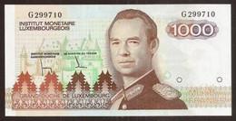 LUXEMBOURG. 1000 Francs (1985). Pick 59. UNC. Prefix G. - Luxembourg