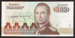 LUXEMBOURG. 1000 Francs (1985). Pick 59. UNC. Prefix L. - Luxembourg