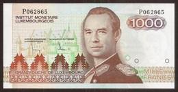 LUXEMBOURG. 1000 Francs (1985). Pick 59. UNC. Prefix P. - Luxembourg