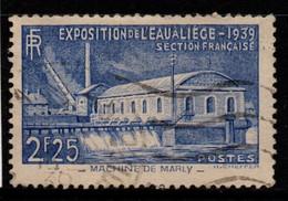 "Q030I - FRANCE - 1939 - YV#: 430 - USED - ""LE MACHINE DE MARLY"" - Oblitérés"
