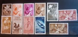 GUINEA SPAGNOLA NUOVI MH* - Guinee (1958-...)