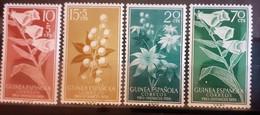 GUINEA SPAGNOLA FIORI NUOVI MH* - Guinee (1958-...)
