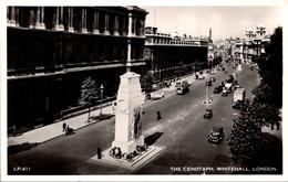 (5 A 12) Older UK Postcard - London Cenotaph (posted 1955) - Altri