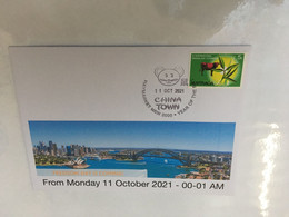 (5 A 14) New South Wales End Of LOCKDOWN - Freedom Day (1) - 11- October 2021 - With OZ Stamp - Disease