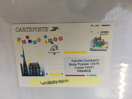 (5 A 14) Posted To Creteil (France) (RTS During COVID-19 Pandemic) Philexfrance Maxicard - Medicina