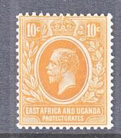 EAST AFRICA  & UGANDA  PROT.  43   **  Wmk. 4 - East Africa & Uganda Protectorates
