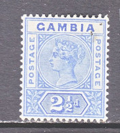 GAMBIA  23   *  Wmk. 2 - Gambia (...-1964)