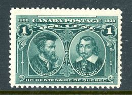 Canada MH 1908 Cartier And Champlain - Used Stamps