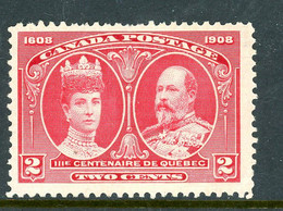 Canada MNH 1908 Quebec Tercentenary - Used Stamps