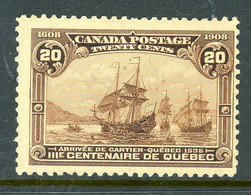 Canada MH 1908 Quebec Tercentenary - Used Stamps