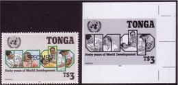 Tonga 1990 Proof + Specimen -  Doctor Health Dentist - Details In Item Description - Medicina