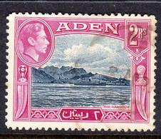 ADEN - 1939 2 RUPEE KGVI DEFINITIVE STAMP FINE USED SG 25 REF A - Aden (1854-1963)