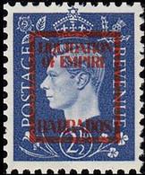 BARBADOS 1940s WWII George VI 2½d FORGERY:overprint Germany-related Faux De Propagande Propaganda - Seconda Guerra Mondiale