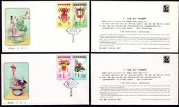 1985 China FDC T104 Ancient  Festive Lantern - 1980-1989