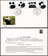 1985 China FDC T106 Giant Panda - 1980-1989