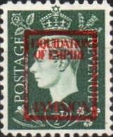 JAMAICA 1940s WWII George VI ½d FORGERY:overprint Germany-related Faux De Propagande Propaganda - Jamaica (...-1961)