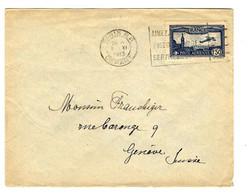 52872 - Par Avion Pour La SUISSE - 1927-1959 Brieven & Documenten