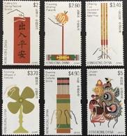 HONG-KONG 1956/61 Fêtes Et Coutumes, Dragon - Non Classificati