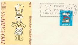 [E0039] España 1967, FDC Día Nacional De La Caridad (NS) - FDC