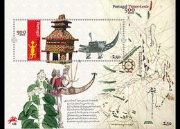 Portugal 4075/77 Timor Oriental, Costume, Tissus, Végetaux, Carte - Non Classificati