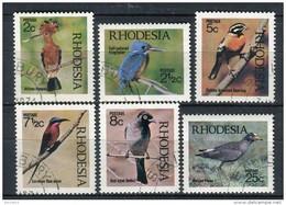 Rhodesia 1971. Yvert 202-07 Usado. - Rhodesia (1964-1980)