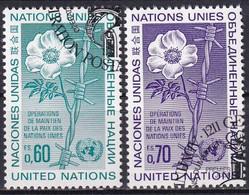 UNO GENF 1975 Mi-Nr. 54/55 O Used - Aus Abo - Gebraucht
