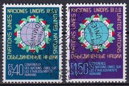 UNO GENF 1976 Mi-Nr. 58/59 O Used - Aus Abo - Gebraucht