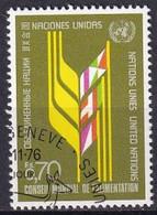 UNO GENF 1976 Mi-Nr. 62 O Used - Aus Abo - Gebraucht