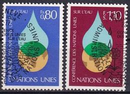UNO GENF 1977 Mi-Nr. 64/65 O Used - Aus Abo - Gebraucht