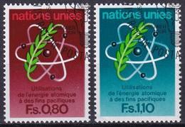 UNO GENF 1977 Mi-Nr. 70/71 O Used - Aus Abo - Gebraucht