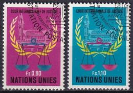 UNO GENF 1979 Mi-Nr. 86/87 O Used - Aus Abo - Gebraucht
