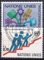 UNO GENF 1980 Mi-Nr. 94/95 O Used - Aus Abo - Gebraucht