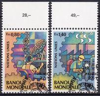 UNO GENF 1989 Mi-Nr. 173/74 O Used - Aus Abo - Gebraucht