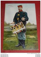 MILITARIA - UNIFORMES - Armée Belge -   Infanterie  -  Tambour -  1909  - - Uniformen