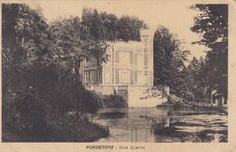 PORDENONE-VILLA QUERINI-CARTOLINA  VIAGGIATA IL 5-10-1930 - Pordenone