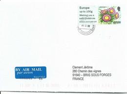 Vignette De Distributeur - ATM - IAR - Fleur - Vergerette Glauque - Wishing You A Safe Christmas - Altri