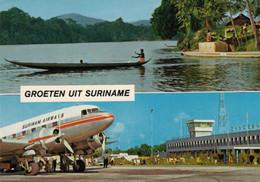 CPA - Aéroport De Zanderij ( Surinam ) - Douglas DC 3 - Compagnie Surinam Airways - Aeródromos