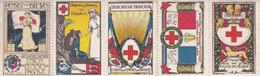 6 Vignettes UNION DES FEMMES DE FRANCE - Croix Rouge