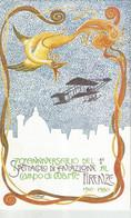 70° ANNIVERSARIO DEL 1° SPETTACOLO DI AVIAZIONE AL CAMPO DI MARTE FIRENZE 1910 1980  (2754) - Vari