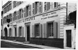 RUFFEC - Hôtel De France, Maison Claudot-Deschandeliers - Foies Gras Aux Truffes - Ruffec