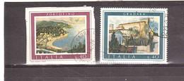 1974 PORTOFINO , GRADARA 2 VALORI - 1971-80: Storia Postale