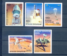 CENTRAL AFRICA SET SPACE IMPERFORED    MNH - Altri
